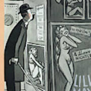 New Yorker January 9th, 1954 Art Print