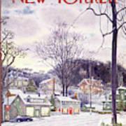New Yorker January 9th, 1965 Art Print