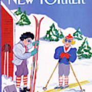 New Yorker January 9th, 1989 Art Print