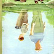New Yorker July 12th, 1958 Art Print