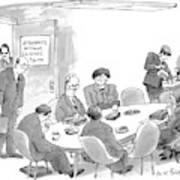 New Yorker July 13th, 1998 Art Print