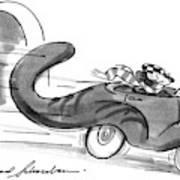 New Yorker July 16th, 1990 Art Print