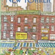New Yorker July 18th, 1983 Art Print