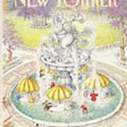 New Yorker July 18th, 1988 Art Print