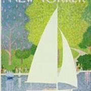 New Yorker July 1st 1974 Art Print