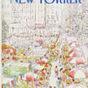 New Yorker July 27th, 1981 Art Print