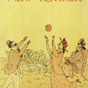 New Yorker July 4th, 1977 Art Print