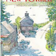 New Yorker July 4th, 1983 Art Print