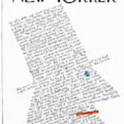 New Yorker July 5th, 1976 Art Print
