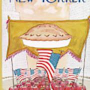 New Yorker July 7th, 1975 Art Print