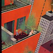 New Yorker June 12th, 1937 Art Print