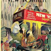 New Yorker June 16th, 1997 Art Print