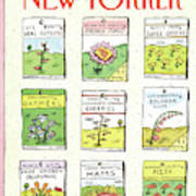 New Yorker June 1st, 1987 Art Print