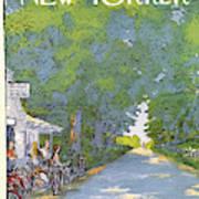 New Yorker June 21st, 1976 Art Print