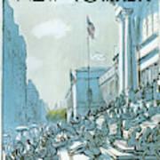 New Yorker June 27th, 1977 Art Print