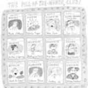 New Yorker June 8th, 1998 Art Print
