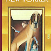 New Yorker March 10th, 2003 Art Print