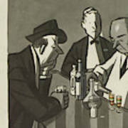 New Yorker March 11th, 1950 Art Print