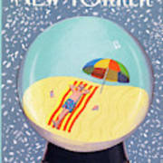 New Yorker March 12th, 1990 Art Print