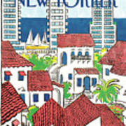 New Yorker March 14th, 1988 Art Print