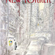 New Yorker March 21st, 1988 Art Print