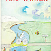 New Yorker March 26th, 1966 Art Print