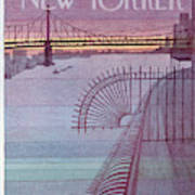 New Yorker March 31st, 1980 Art Print