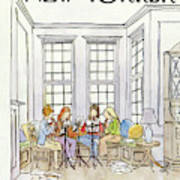New Yorker March 3rd, 1980 Art Print