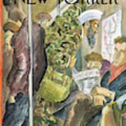 New Yorker March 3rd, 2003 Art Print