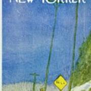 New Yorker March 4th 1972 Art Print