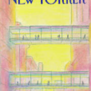 New Yorker March 4th, 1985 Art Print