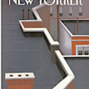 New Yorker March 5th, 1990 Art Print