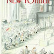 New Yorker May 18th, 1987 Art Print