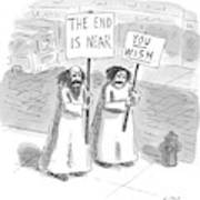 New Yorker May 19th, 1997 Art Print by Roz Chast