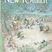 New Yorker May 27th, 1991 Art Print