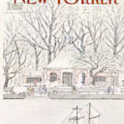 New Yorker May 2nd, 1983 Art Print