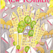 New Yorker May 2nd, 1988 Art Print