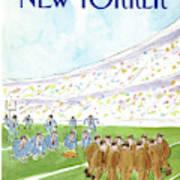 New Yorker November 16th, 1987 Art Print