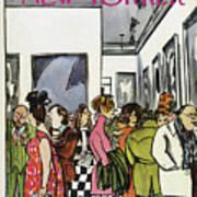 New Yorker November 19th, 1966 Art Print