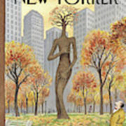New Yorker November 19th, 2001 Art Print