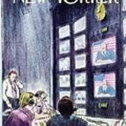 New Yorker November 1st 1976 Art Print