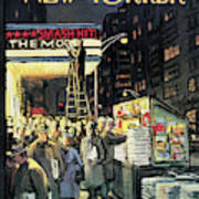 New Yorker November 22nd, 1958 Art Print