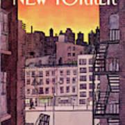 New Yorker November 25th, 1985 Art Print