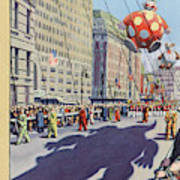 New Yorker November 29th, 1952 Art Print