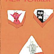 New Yorker November 2nd, 1981 Art Print