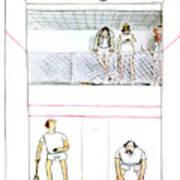 New Yorker November 7th, 1977 Art Print by Charles Saxon