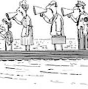 New Yorker October 10th, 1983 Art Print