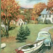 New Yorker October 11th, 1958 Art Print
