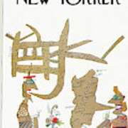 New Yorker October 12th, 1963 Art Print