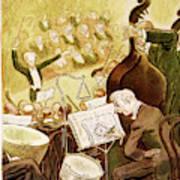 New Yorker October 13th, 1945 Art Print